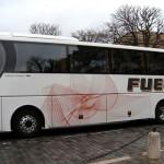 zatamnjena stakla na autobusu